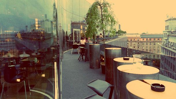 Бар и Ресторан на крыше в Варшаве