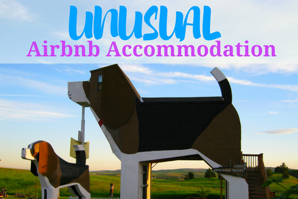 the most unusual housing on Airbnb