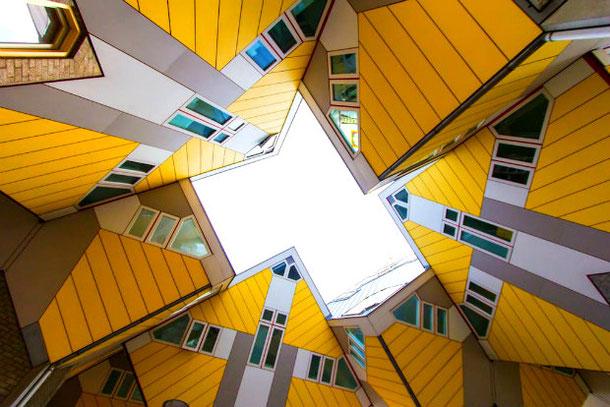 необычный многоугольный дом с Airbnb в Нидерландах