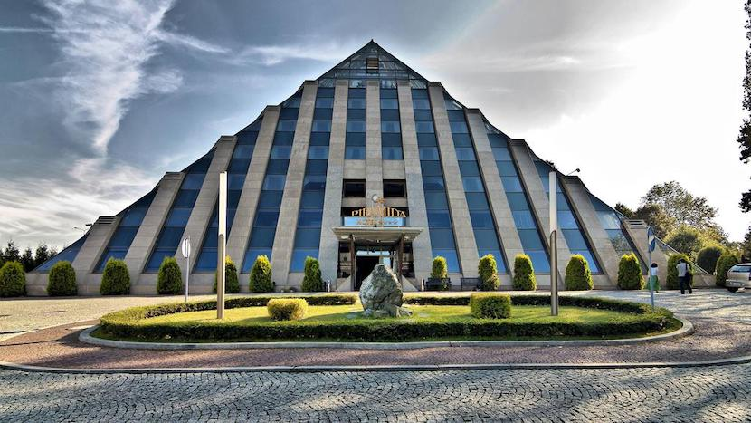 Unusual Piramida hotel in Tychy, Poland