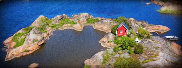 Частный остров в Норвегии можно арендовать через Airbnb