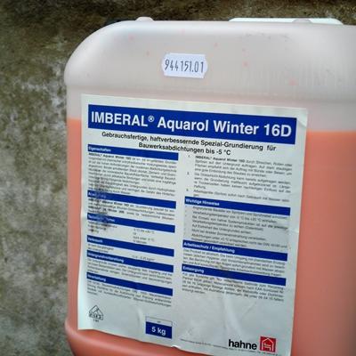 Grundierung Aquarol