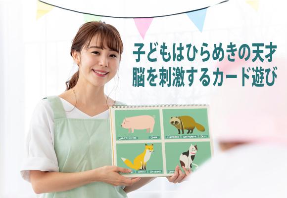 知育教育絵カード ~使い方無限大 脳トレ絵カードシリーズ~