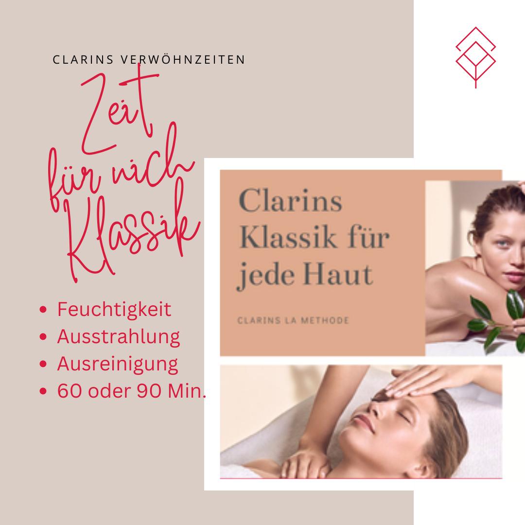 Clarins Klassik Behandlungen für jede Haut und Alter