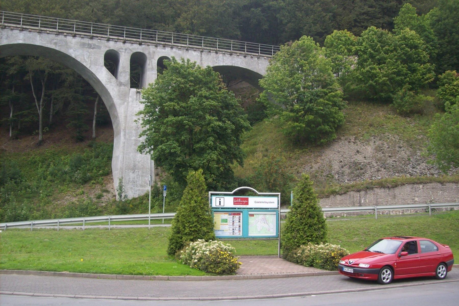 Viadukt in Willingen (Sauerland)