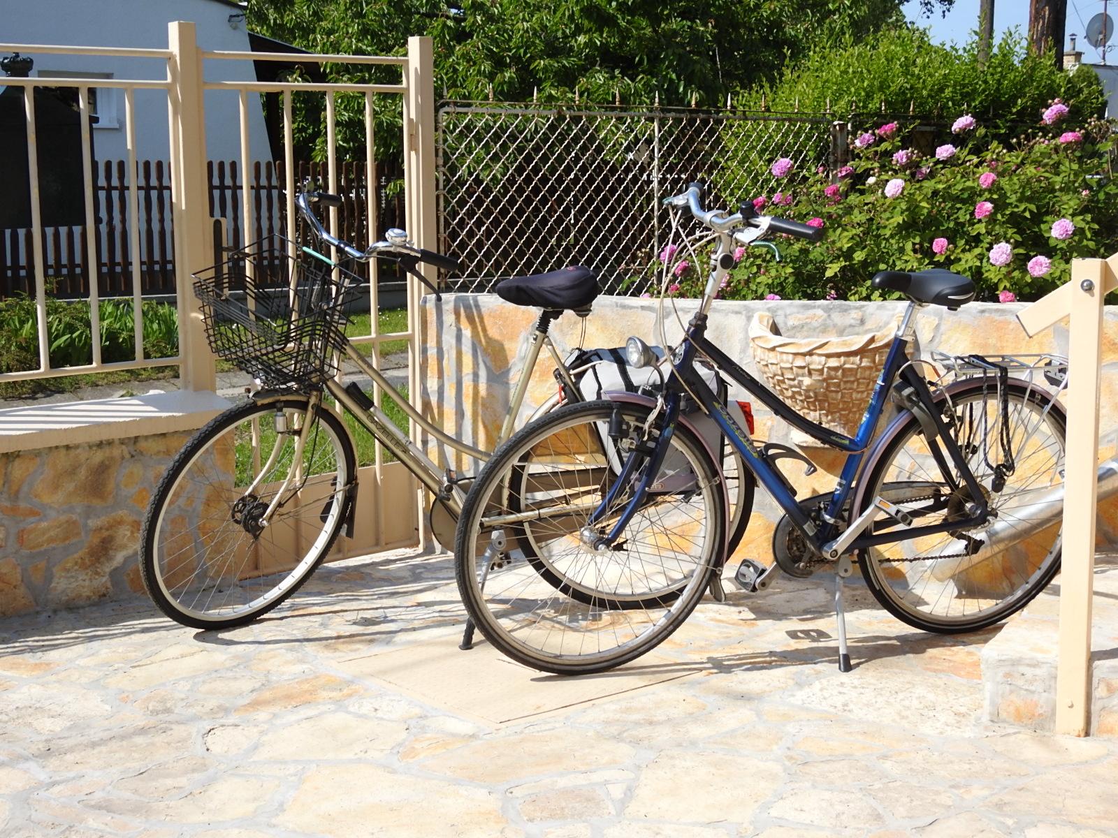 U  mag u gebruik van maken van onze 2 fietsen