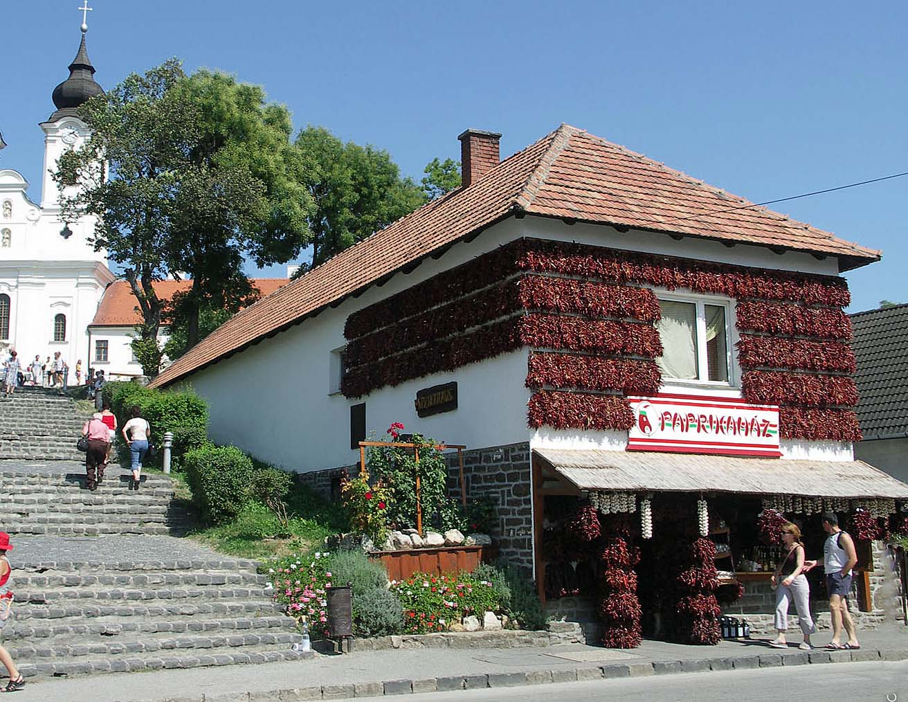 Paprikahuis in Tihany