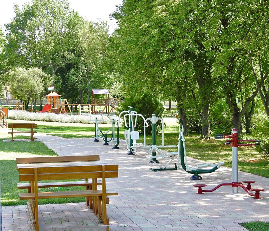Gratis fitnesstoestellen voor wie ook in de vakantie fit wil blijven