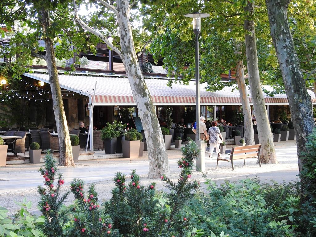 Borcsa restaurant in Balatonfüred aan het strand