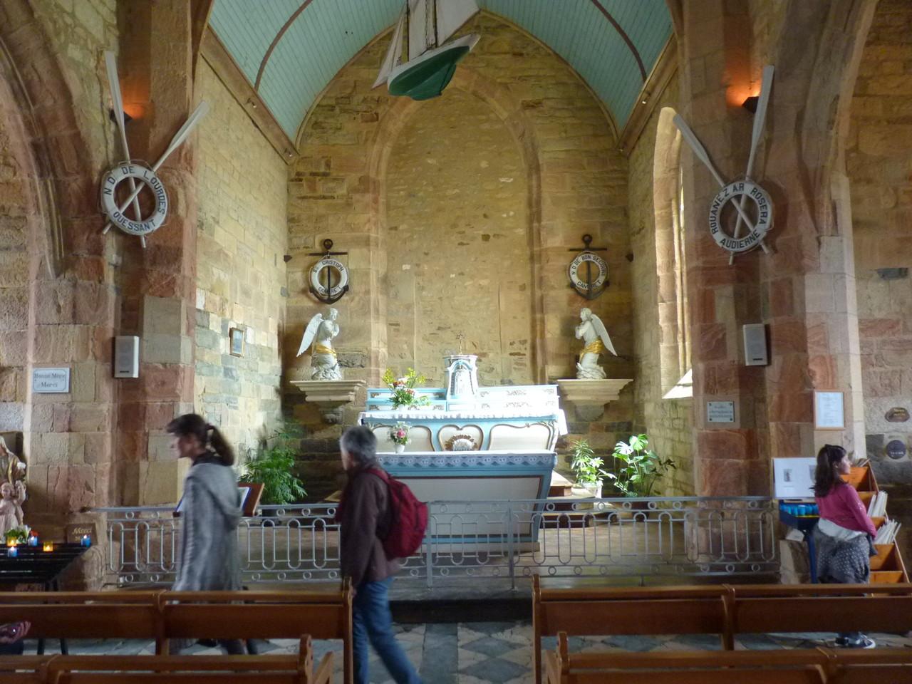 La chapelle de Notre Dame de Rocamadour à Camaret