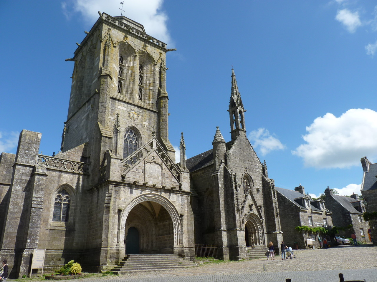 L'église de Locronan