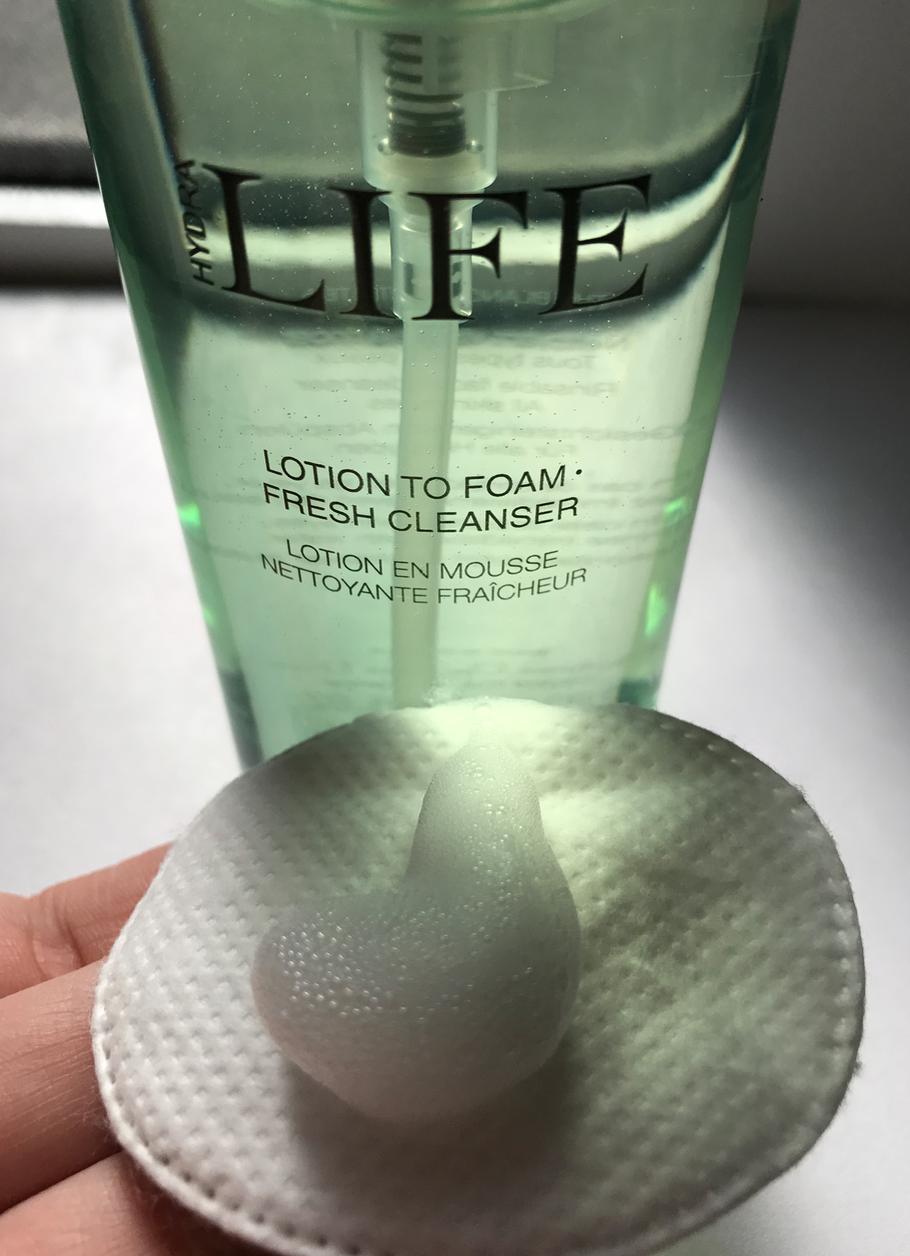 La lotion liquide... qui devient mousse !