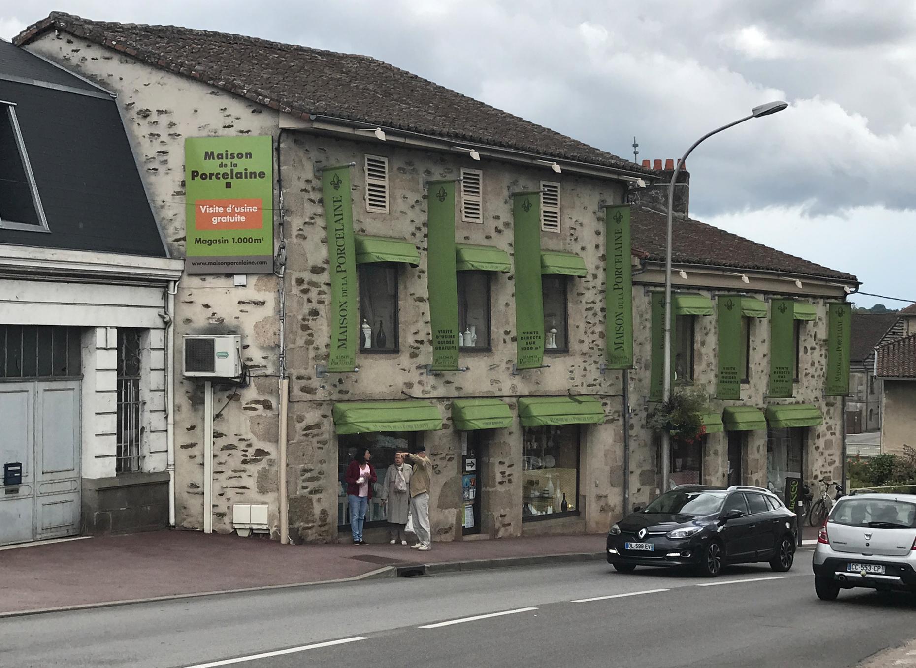 La Maison de la Porcelaine à Aixe sur Vienne