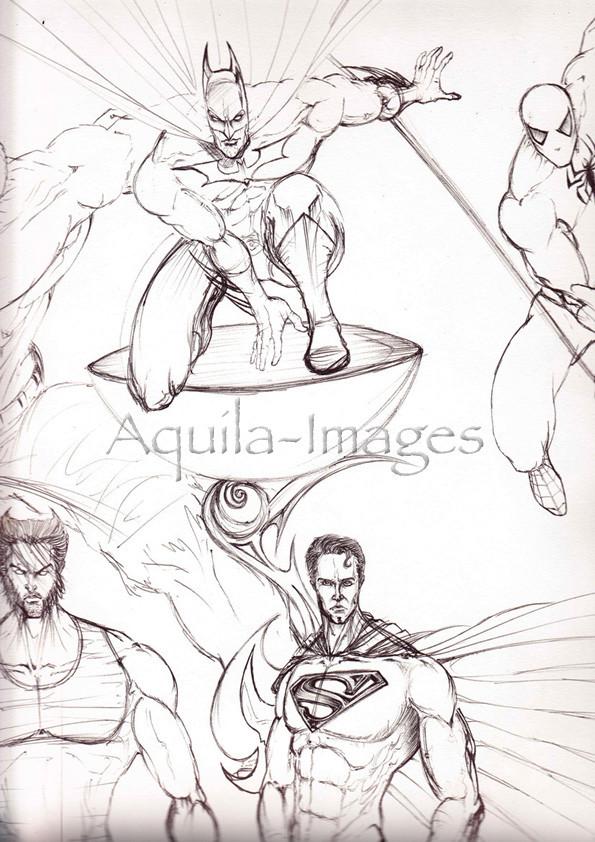 Boaz George-aquila-images-comic art