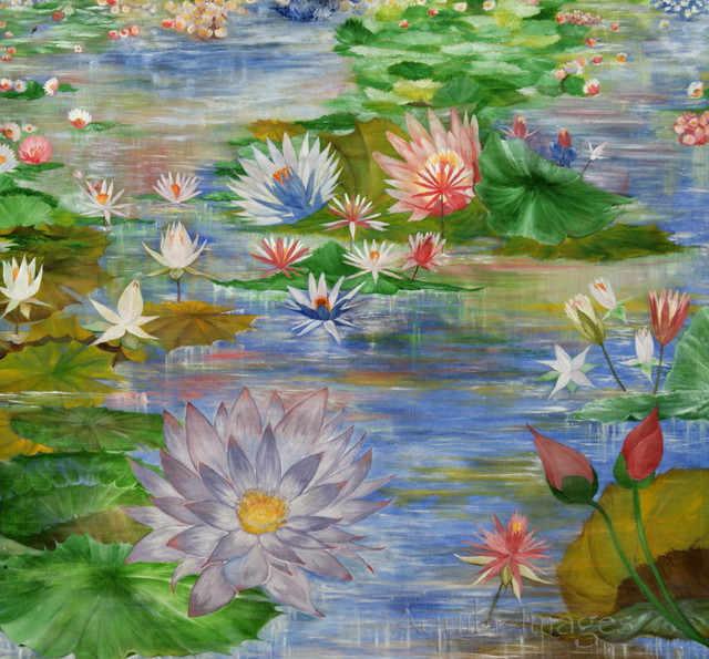 Painting for waiting rooms - Pond of Lilies