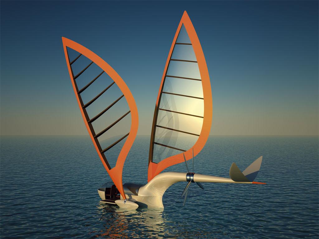 Sailing Aircraft Octuri Design Amp Interior Fictional