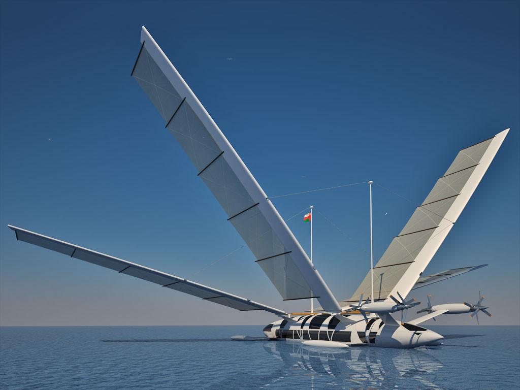Flying Yacht Octuri Design Amp Interior Fictional