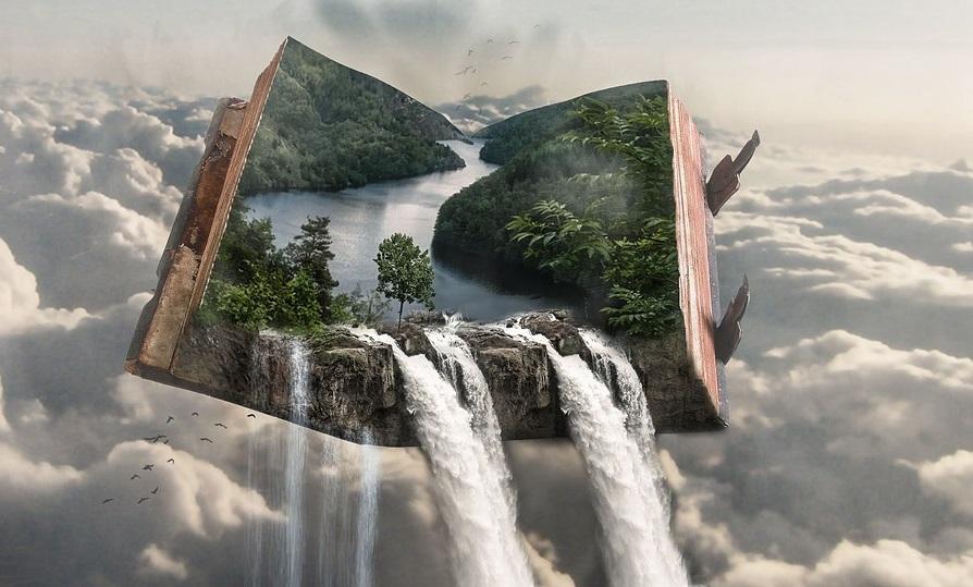 Wir schreiben jeden Tag unsere eigene Geschichte, in der wir - wie in einem Buch - blättern können.