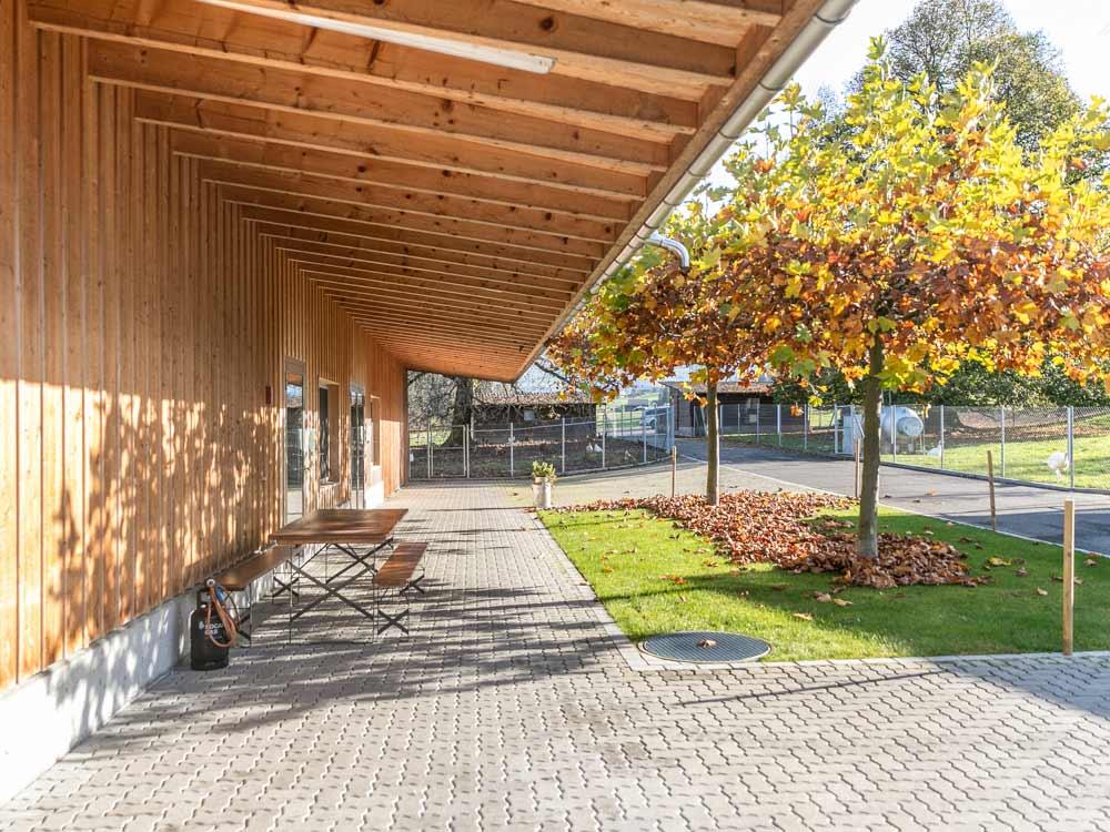 neues, modernes Metzgerei-Gebäude erfüllt bei weitem mehr als die Normen und Auflagen.