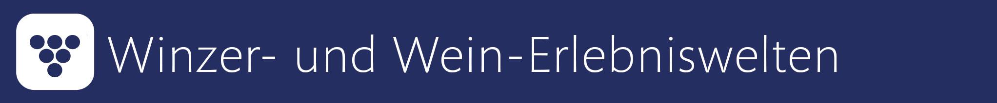 Deutschlands Weinrouten und Weinregionen auf GENUSS ERFAHREN - präsentiert vom Deutschen Weininstitut