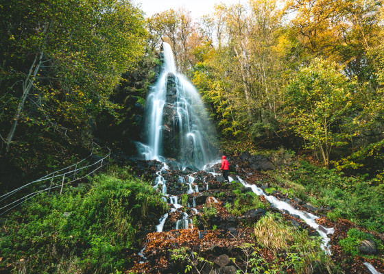Wasserfall Trusetal © Regionalverbund Thüringer Wald e.V.