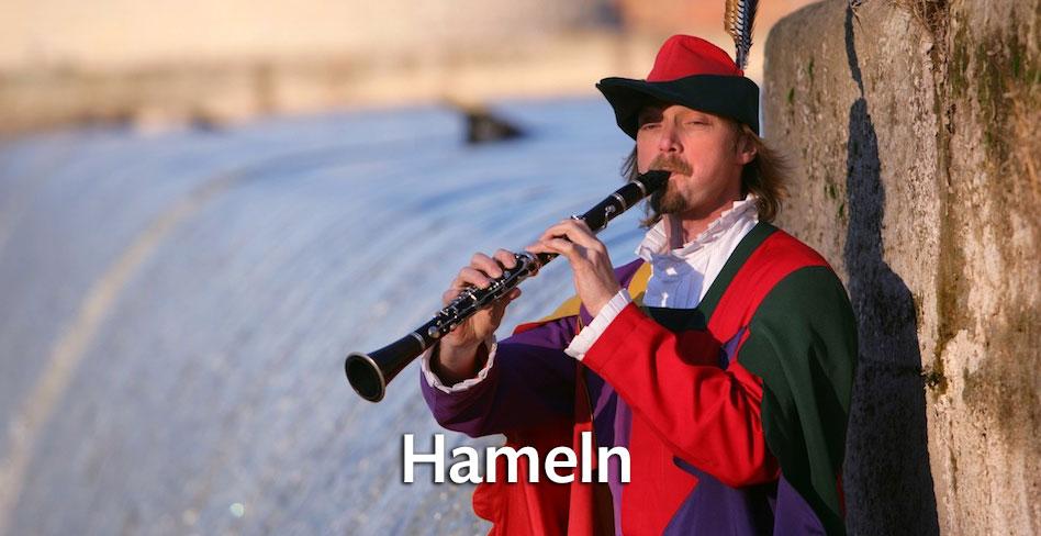 Die Rattenfängerstadt Hameln entdecken!
