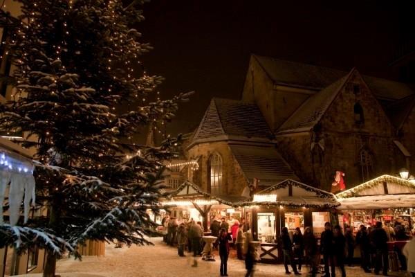 Weihnachtsmarkt in Hameln © Hameln Marketing und Tourismus GmbH