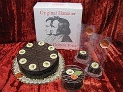 Original Hanauer Brüder Grimm Torte. FERIENSTRASSEN.INFO