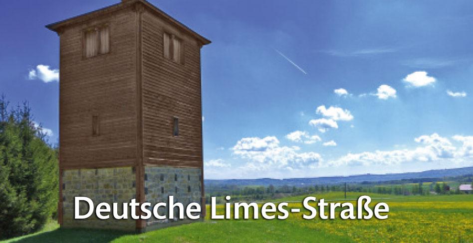 Die Deutsche Limes-Straße auf FERIENSTRASSEN.INFO