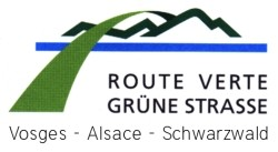 Logo Grüne Straße - Route Verte