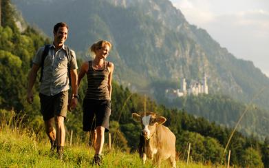 Wandern auf königlichen Spuren (Copyright: Füssen Tourismus und Marketing /www.guenterstandl.de)