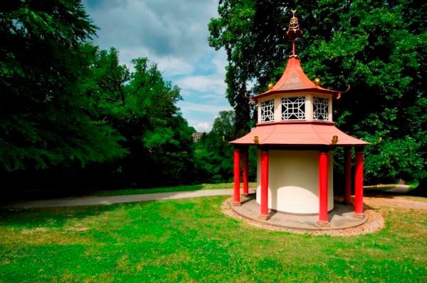 Chinesische Pagode im Bergpark Wilhelmshöhe © Kassel Marketing GmbH