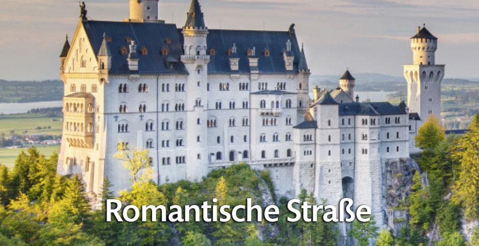 Die Romantische Straße auf FERIENSTRASSEN.INFO