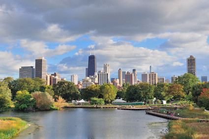 Chicago Skyline - Beginn der Route 66 (© rabbit75_fot - Fotolia.com)