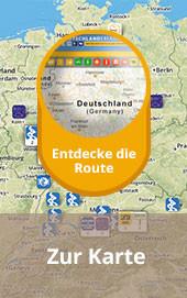 Die Krombacher Bierwanderroute in Karte entdecken!