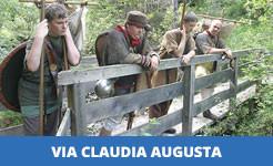 Die Via Claudia Augusta auf FERIENSTRASSEN.INFO