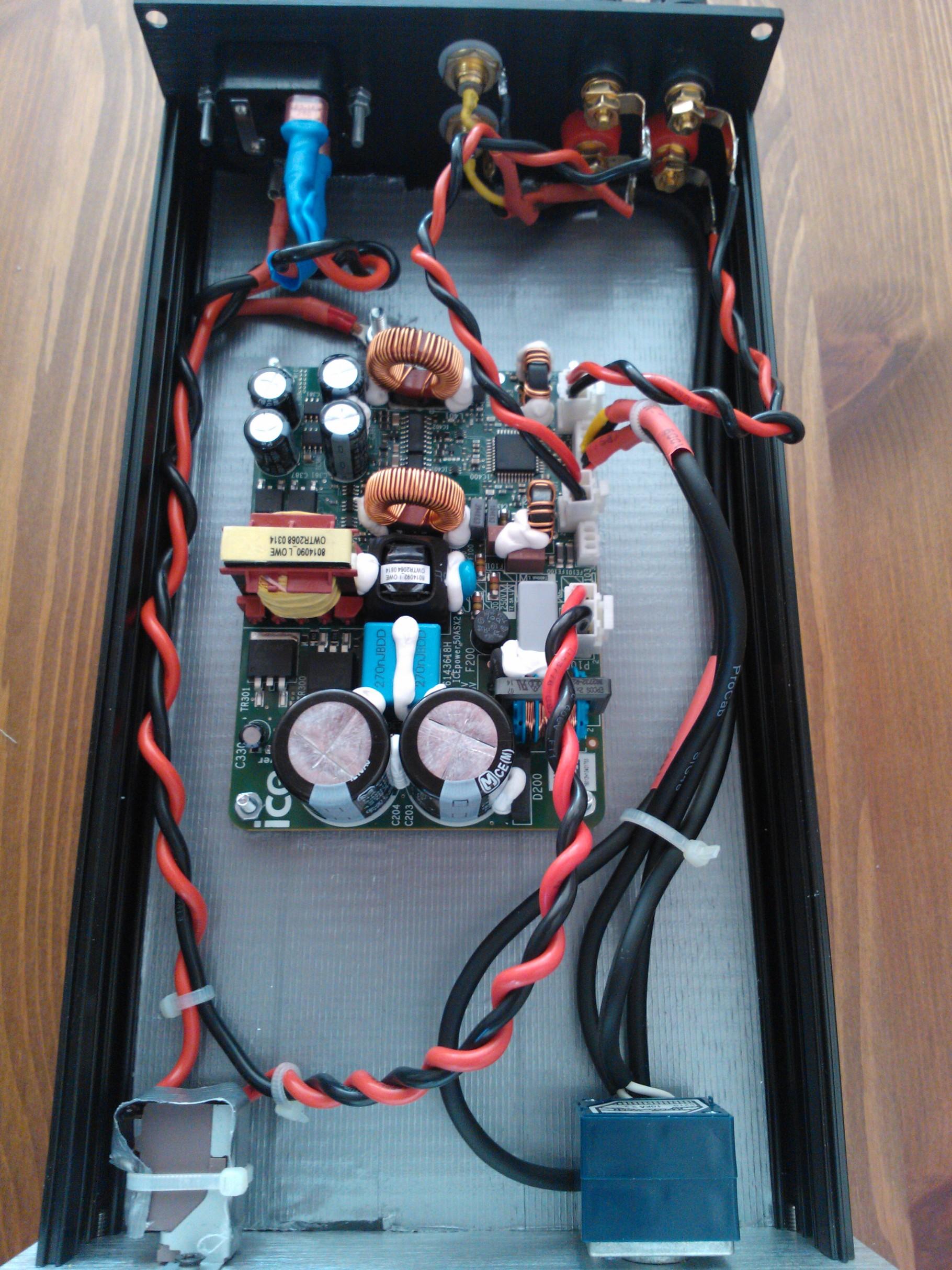 Hochwertiger Amp mit Icepower 50 ASX2 SE Modul - gazza-diy-audio de