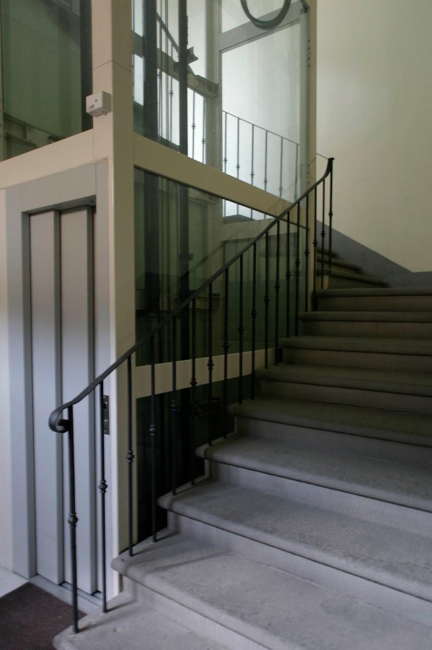 LE PALME Ancient convent staircase