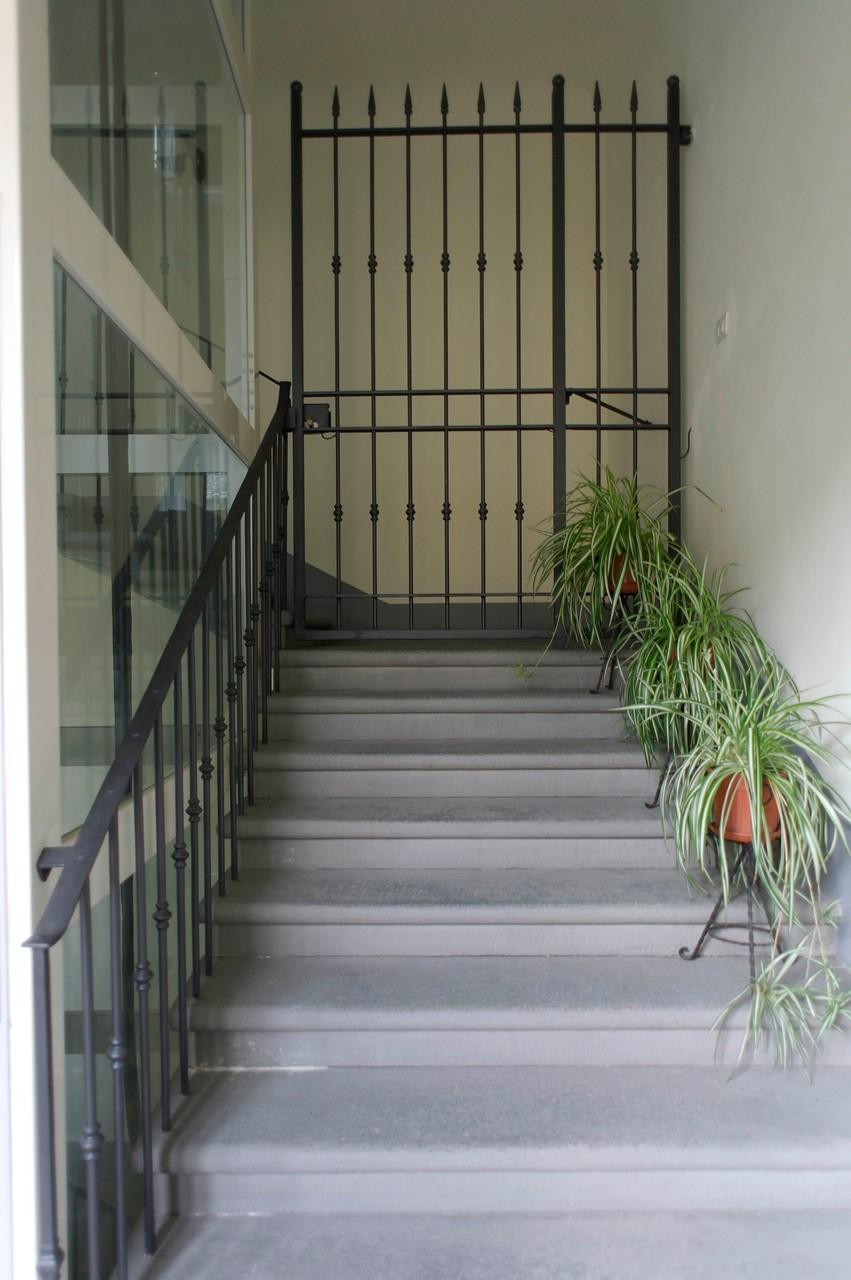 LE PALME Ansicht des alten Treppenhauses