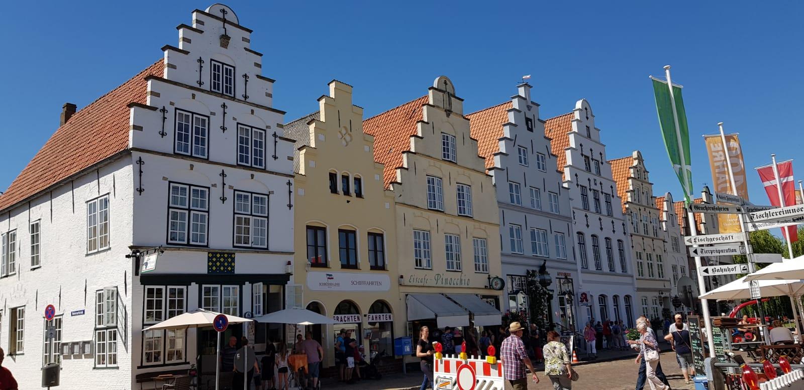 Fahrt nach Friedrichstadt