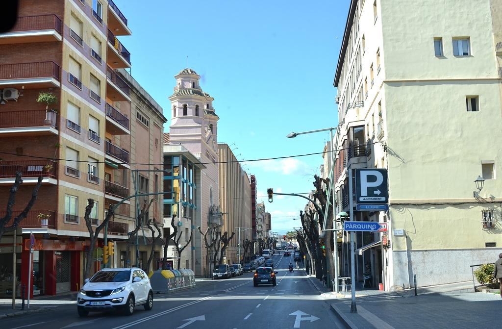 Zum ersten Mal durch Tarragona