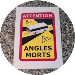 Angles Morts oder die hässlichen WoMo-Schilder für Frankreich...