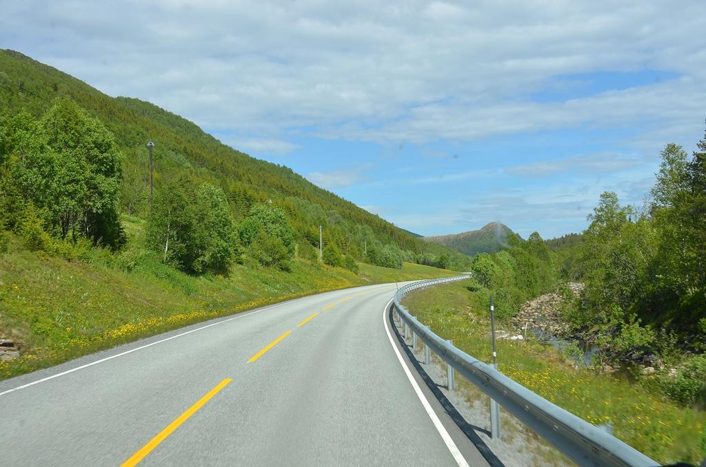 Wir lieben die Landschaft von Norwegen schon jetzt