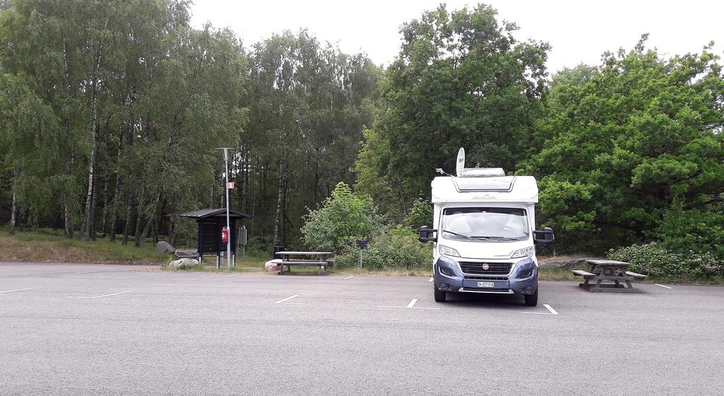 Stellplatz in Göteborg