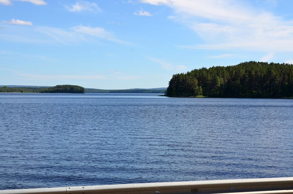Die schönsten Seen können die Begegnung ...
