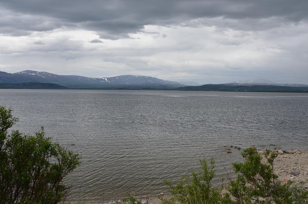 Stellplatz am Fjord