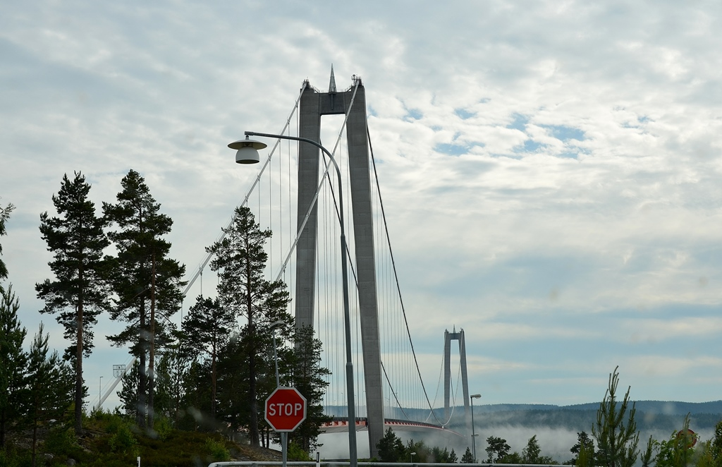 Cool! Was für eine Brücke