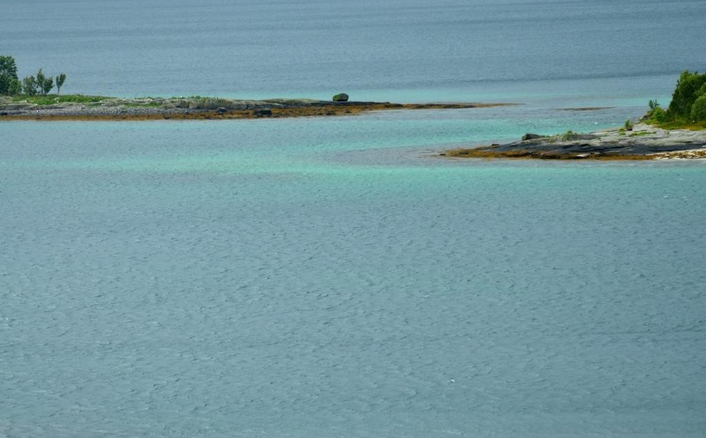 Türkisfarbene Lagune ...