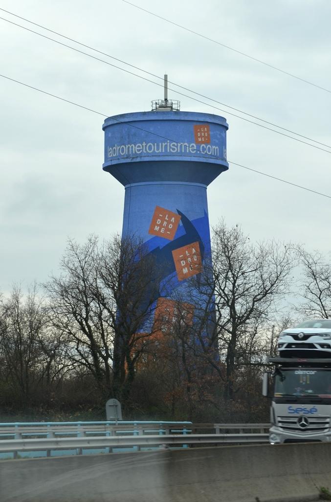 Wassertürme ... auch etwas Neues
