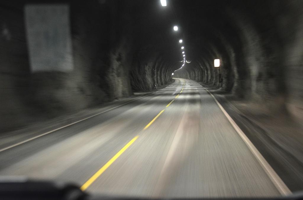 Und wieder ein Tunnel
